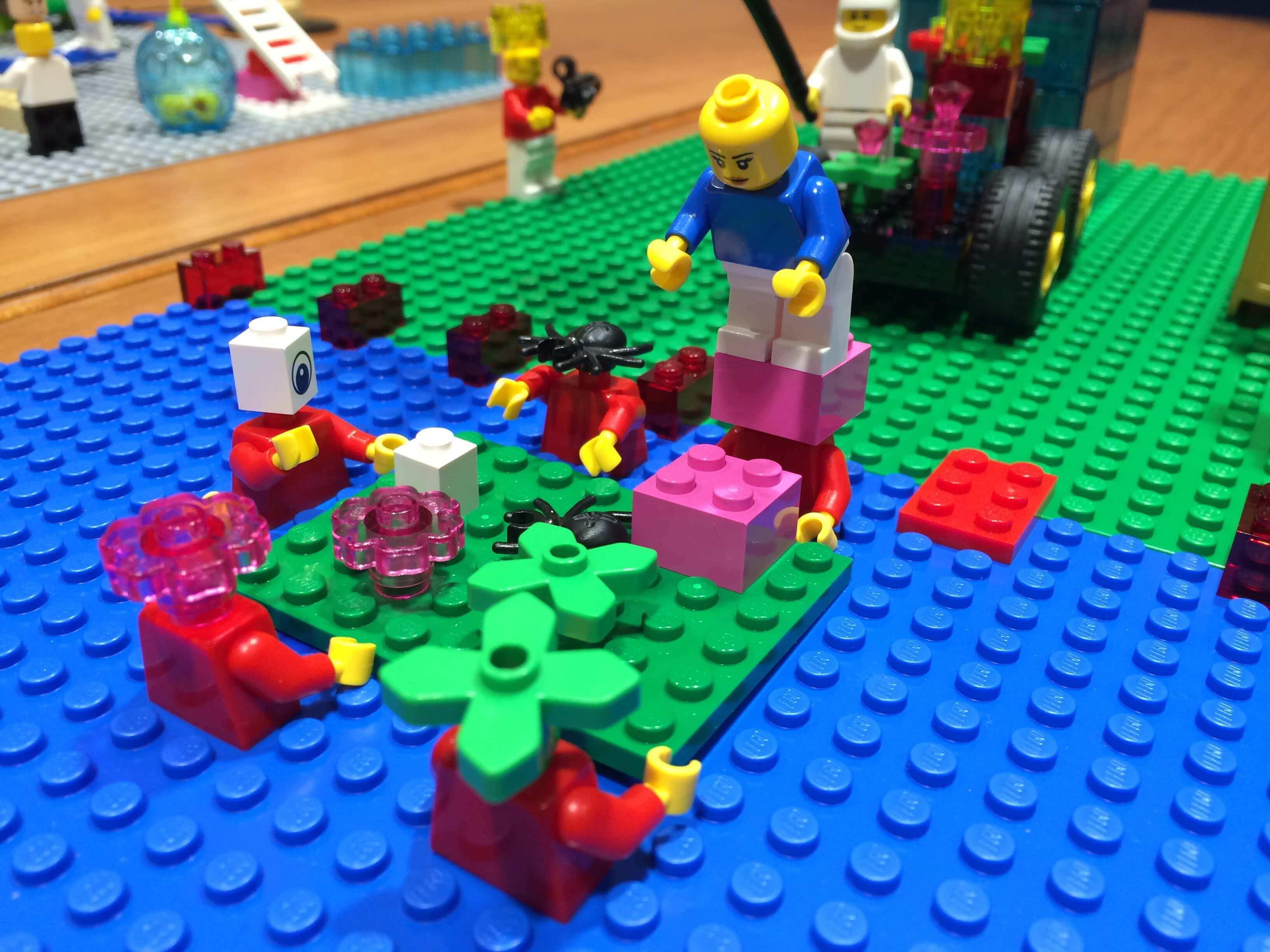 Organizacijos vizijos kūrimas (LEGO metodika)